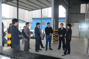 宜昌市副市长周正英到晶海物流调研物流产业发展情况